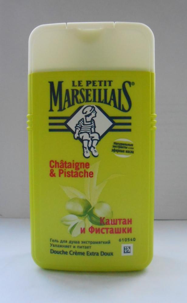 Гель для душа Le petit Marseillais: каштан и фисташки